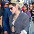 Kristen Stewart – Arrives at Good Morning America in New York