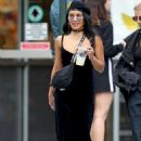 Vanessa Hudgens – All in black out and about in New York City