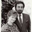 Press Photo Blair Brown and Kabir Bedi on The Days and Nights of Molly Dodd - 454 x 588
