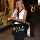 Paris Hilton Shopping In Beverly Hills