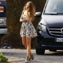Blake Lively On The Set Of All I See Is You In Barcelona