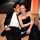 Diane Lane and Josh Brolin at Oscar after party