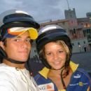Nina Lucas and Nelson Piquet Jr