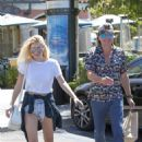 Ava Sambora in Shorts at Marmalade Cafe in Calabasas - 454 x 681