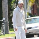 Ashton Kutcher going to a Kabbalah session in Los Angeles, CA (September 14)