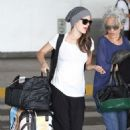 Rachel Bilson: at LAX airport in Los Angeles