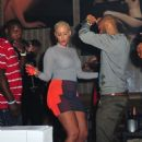 Amber Rose Partying at Club Roxy in Orlando, Florida - February 25, 2012 - 454 x 501