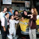 The crew at Sunshine Taxi