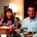 Elizabeth Pena and Paul Rodriguez in Samuel Goldwyn Films' Tortilla Soup - 2001 - 400 x 278