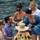 Kylie Jenner – With family in Portofino