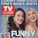 Kat Dennings, Beth Behrs - TV Guide Magazine Cover [United States] (8 November 2011)