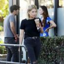 Ashley Benson at The Coffee Bean in West Hollywood