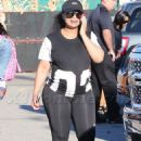 Blac Chyna and Kourtney Kardashian at The Pumpkin Patch in Los Angeles, California - October 14, 2016 - 454 x 680