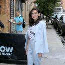 Olivia Munn – Headed to The Daily Show in New York - 454 x 681