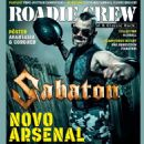 Joakim Brodén - Roadie Crew Magazine Cover [Brazil] (June 2019)