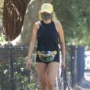 Malin Akerman – Out for a walk with her dog in Los Feliz - 454 x 681