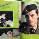 Alain Delon - Eiga no tomo Magazine Pictorial [Japan] (May 1961) - 454 x 340