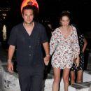 Ana Beatriz Barros and husband Karim El Chiaty – Night out in Mykonos - 454 x 680