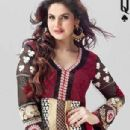 Zarine Khan In Anarkali New Photo Shoot For A New Collection Of 2013 - 304 x 459