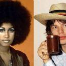 Mick Jagger and Marsha Hunt