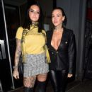 Jemma Lucy and Sallie Axl – Night out at the Sakana Restaurant in Manchester - 454 x 725