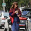 Dakota Johnson – Goes on a coffee at Alfred Coffee in West Hollywood