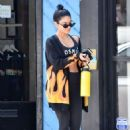Vanessa Hudgens – Leaving the gym in Los Angeles