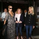 Paris and Nicky Hilton – Celebrates Her Mother's 59th Birthday in Beverly Hills