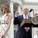 Melania Trump – White House Congressional Picnic in Washington - 454 x 288