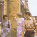 Lady Diana Spencer accompanied Prince Charles on a visit to the First Battalion of the Cheshire Regiment Headquarters at Tidworth Barracks in Wiltshire - 24 July 1981