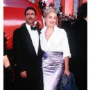 Phil Bronstein and Sharon Stone At The 70th Annual Academy Awards (1998) - Arrivals - 432 x 648