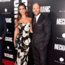Jessica Alba & Jason Statham : Mechanic: Resurrection  Premiere (August 22, 2016) - 404 x 600