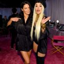Adriana Lima and Rita Ora – Victoria's Secret Fashion Show 2018 Backstage in NY
