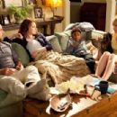The Penderghaast family Stanley Tucci as 'Dill', Emma Stone as 'Olive', Bryce Clyde Jenkins as 'Chip' and Patricia Clarkson as 'Rosemary' in Screen Gems' EASY A. Photo By: Adam Taylor - 454 x 303