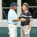 Fred CouplesWith Bernhard Langer