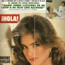Brooke Shields - Hola! Magazine Cover [Spain] (14 April 1984)