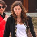 Jessica Biel Out In Aspen - March 26, 2010