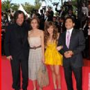 Celebrities walk the red carpet at the 'Che' premiere at the 61st International Cannes Film Festival on May 21, 2008