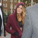 Cara Delevingne Seen Outside Harrods In London
