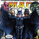Batman, The Hulk - MAD Magazine Cover [Brazil] (July 2008)
