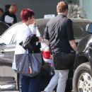 Sharon Osbourne seen heading to a meeting in Beverly Hills, California on July 30, 2015
