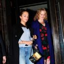 Alicia Vikander Leaving 34 Mayfair restaurant in London - 454 x 802