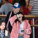 Ariel Winter – Leggy at LAX Airport in Los Angeles