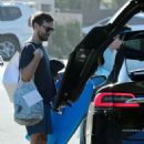 Tatiana Dieteman and Tobey Maguire – Seen on the beach in Malibu