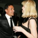 Courtney Love and André Balazs