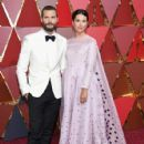 Jamie Dornan and Amelia Warner At The 89th Annual Academy Awards  - Arrivals (2017)