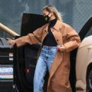 Hailey Bieber – Seen at a studio in Studio City