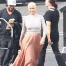 Amber Rose at the 'Dancing With The Stars' studios for taping in Hollywood, California - September 12, 2016 - 427 x 600