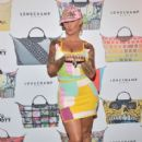 Amber Rose attends the Jeremy Scott for Longchamp 10th Anniversary held at a Private Residence  in Beverly Hills, California - November 5, 2015 - 413 x 600