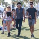 Richie Sambora and Ava Sambora at Day 3 of first weekend of The Coachella Valley Music and Arts Festival in Coachella, California on April 11, 2015 - 454 x 449